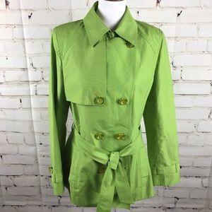 Dana Bachman Lime Green Jacket size 6